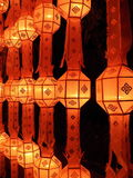 Lamp of Yee Peng Festival Stock Photography
