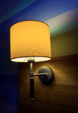 Lamp with yellow Royalty Free Stock Images