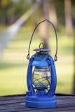 lampa błękitny olej Fotografia Stock