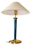lampa dekoracyjny odosobniony stół Zdjęcie Stock
