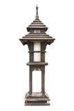 lampa drewniana Obraz Royalty Free