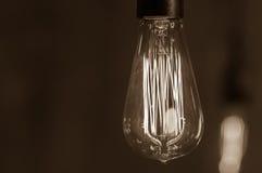 Lampa Edison fotografering för bildbyråer