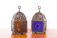 lampa egipscy kawałki dwa Obrazy Stock
