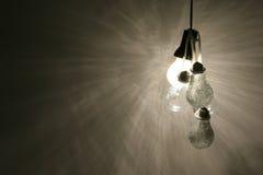lampa för 02 kulor fotografering för bildbyråer