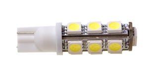 Lampa för automatisk med 13 SMD-ljusdioder Fotografering för Bildbyråer
