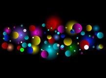 lampa för bakgrundsbokeheffekt Royaltyfria Bilder