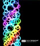 lampa för effekter eps10 för bakgrund blå ljus Royaltyfri Foto