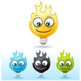 lampa för kulateckenbrand Royaltyfri Foto