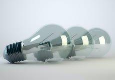 Lampa för ljus kula Royaltyfria Bilder