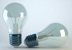 Lampa för ljus kula Fotografering för Bildbyråer