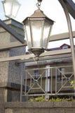 Lampa för lyktalampgata Fotografering för Bildbyråer