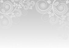Lampa - grå bakgrund Royaltyfria Bilder