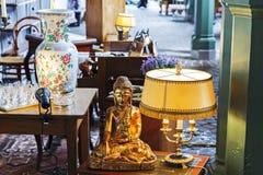 Lampa i inny faszerujemy stawiającą dalej sprzedaż w Montreux Obrazy Stock