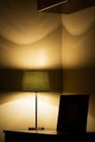 Lampa i obrazek rama Zdjęcie Royalty Free