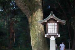 Lampa i templet, Japan Fotografering för Bildbyråer