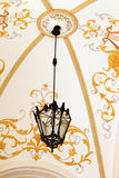 Lampa jako zewnętrzny wystrój Odessa Krajowy Akademicki Theatre Fotografia Stock