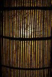 Lampa drewno Zdjęcie Royalty Free