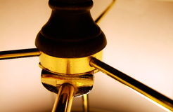 lampa kinkietowy cień. Zdjęcie Royalty Free