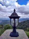Lampa med att bedöva sikt Arkivbilder