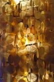 lampa med skaldisketter Royaltyfri Bild