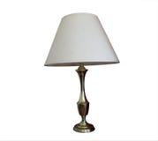 lampa mosiężny stół Zdjęcie Royalty Free