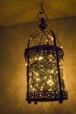 Lampa mycket av små ljus Royaltyfria Bilder