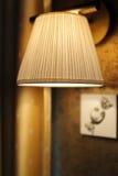 lampa na ścianie Obraz Royalty Free