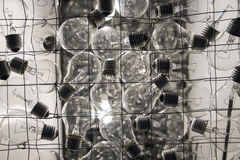Lampa, oświetlenie, elektryczność Fotografia Stock