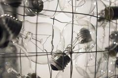 Lampa, oświetlenie, elektryczność Zdjęcia Royalty Free