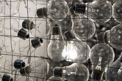 Lampa, oświetlenie, elektryczność Obrazy Royalty Free