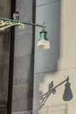 Lampa och fågel Arkivbilder