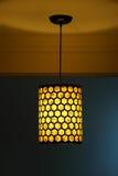 Lampa och skugga Royaltyfri Fotografi