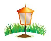 Lampa ogród Obrazy Royalty Free