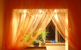 lampa - orange royaltyfria foton