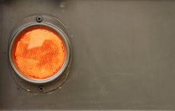 lampa - orange sida Fotografering för Bildbyråer