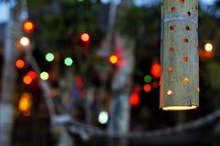 Lampa på stranden Royaltyfri Foto
