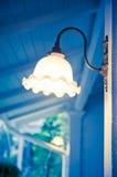 Lampa på väggen Arkivfoton