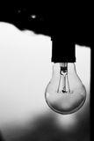 lampa samotna Fotografia Royalty Free