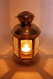 lampa som skiner Arkivbilder