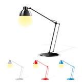 lampa stół Zdjęcie Royalty Free