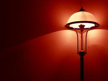 lampa sypialni Obrazy Royalty Free