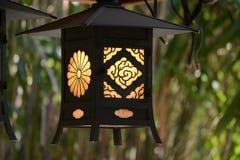 Lampa w świątyni -1 Zdjęcie Royalty Free
