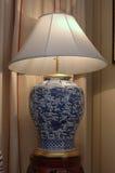 Lampa w formie wazy Obraz Royalty Free