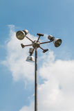 Lampa w ogródzie obrazy stock