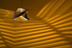 Lampa w pokoju Zdjęcia Stock