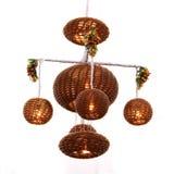 Lampa w powystawowej sala Fotografia Stock