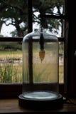 Lampa w słoju Fotografia Royalty Free