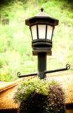 Lampa w wsi Obraz Royalty Free