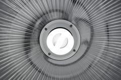 Lampa z Fluorescencyjnym Lightbulb Obrazy Stock