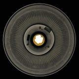 Lampa z niemiecką instrukcją: przed zamieniać lampowego disconne obraz stock